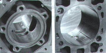 Zylinder neu beschichtet 54mm Aprilia Rotax 123