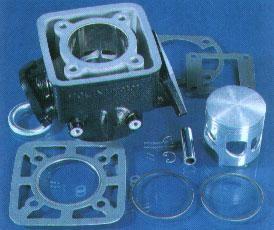 Zylinderkit Polini Yamaha 110ccm DT 80LC I+II,