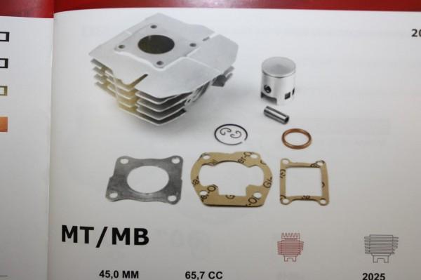 Zylinderkit Honda MT50 MB50 66 ccm D=45mm