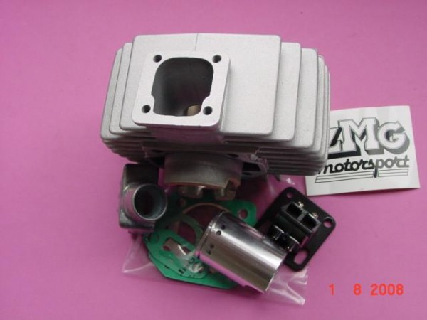 Zylinder Puch Maxi 50ccm Tunin g mit Membrane und Ansaugstutz