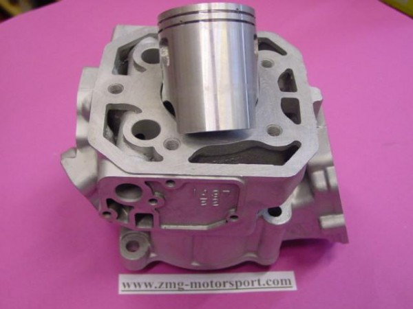 Zylinder neu beschichtet mit Kolben Kawasaki KMX 125