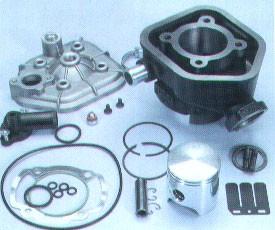 Zylinderkit Polini 50 ccm -7PS Speedfight Wassergekühlt