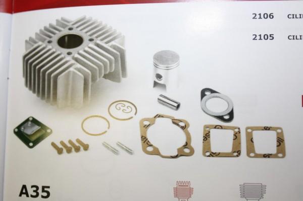 Zylinderkit TOMOS A35,A38,S25 50ccm