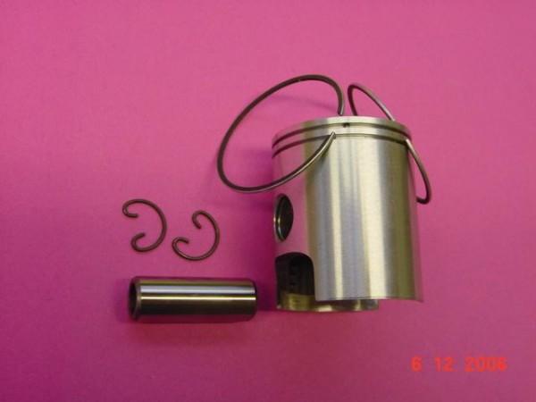 Kolben komplett Derbi Senda 50 D=39,83mm 2Ringe Gusszylinder
