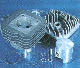 Zylinder corsa 70 ccm Sachs, Peugeot Luftgekühlt